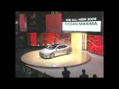 Nissan Maxima makes its debut