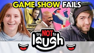 Try To Watch This Without Laughing Or Grinning #197 Game Show Fails