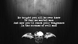 Avenged Sevenfold - Flash Of The Blade [Lyrics on screen] [Full HD]