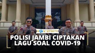 Berikan Semangat dalam Menghadapi Virus Corona, Personel Polda Jambi Ciptakan Lagu 'Lawan Corona'