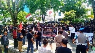 Gelar Aksi Damai ke DPRD Kalsel, Driver Taksi Online Sampaikan Enam Tuntutan