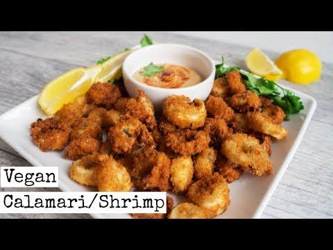 "Vegan Calamari & Shrimp | ""Seafood"" Recipe"