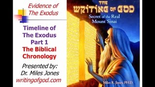 Timeline Part I  - The Biblical Chronology