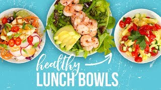 5 Healthy LUNCH BOWLS | Back-To-School 2017