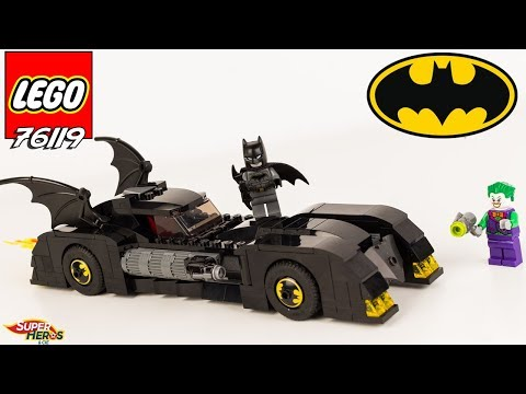 Vidéo LEGO DC Comics Super Heroes 76119 : Batmobile : la poursuite du Joker