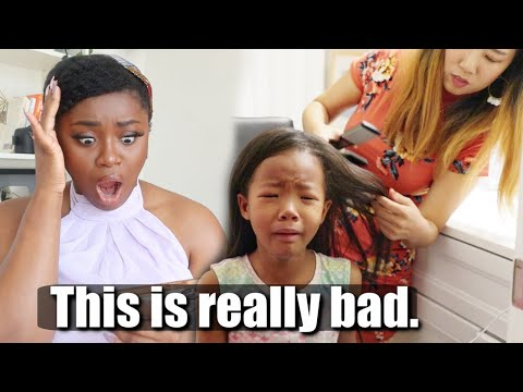 , title : 'ASIAN MOM STRAIGHTENS NATURAL HAIR FOR BIRACIAL KIDS'