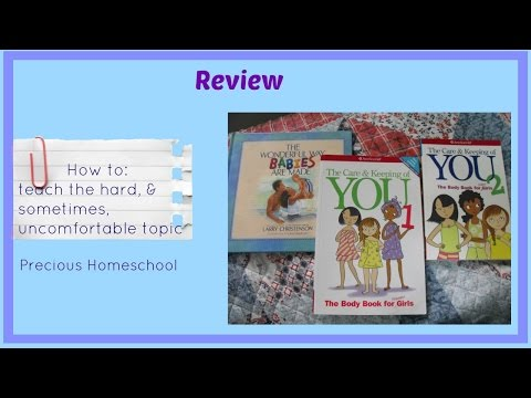 Review: Babies, Your Body, & Puberty Books