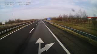Hungary. Motorway M5, 159-22 km. 2017-03, 1x
