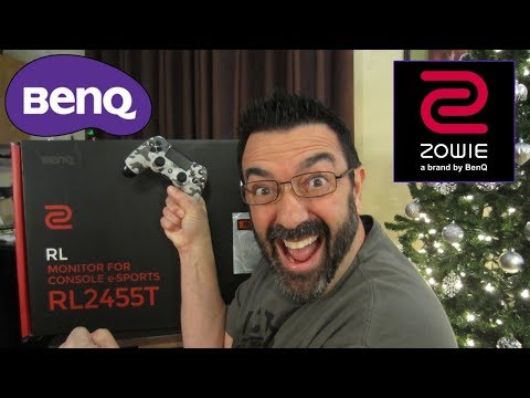 NEW BenQ GAMING Monitor Zowie RL2455T eSports / UnBoxing