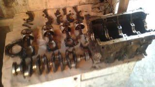 капитальный ремонт 8ми глапанного двигателя. Первая работа своими руками