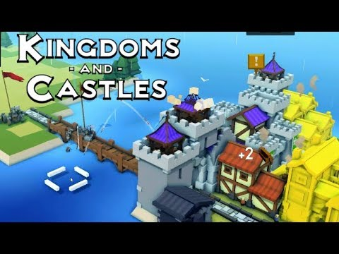 Kingdoms & Castles | Vikings!? | First Impressions Gameplay!