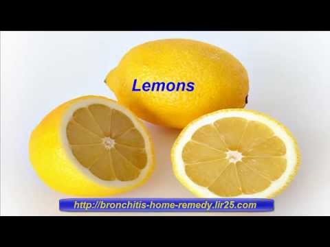 Video Home Remedies To Cure Bronchitis