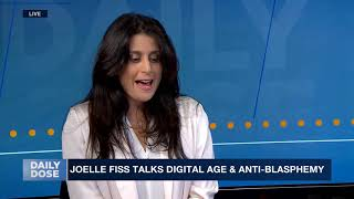 Interview on i24 news on free speech & Internet (at 2:40 min)