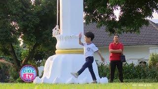 Cucu Jokowi, Jan Ethes Kembali Viral Pasca Hormat Bendera & Hadapi Puluhan Wartawan - Bioztv.id