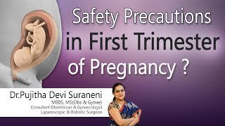 Hi9 | Safety Precautions in First Trimester of Pregnancy? | Dr.Pujitha Devi Suraneni | Gynecologist