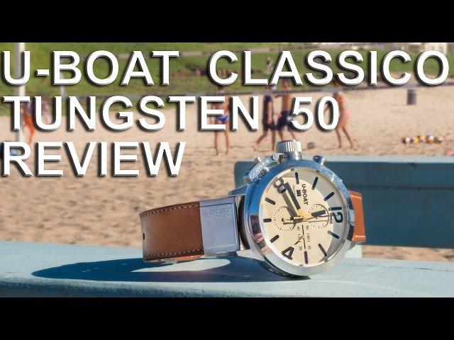 U-Boat Classico Tungsten 50 Review