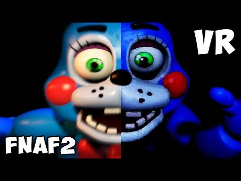 FNAF 2 vs. FNAF VR Jumpscares Comparison