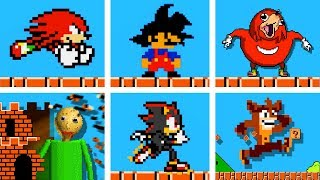 Famous OP characters in Super Mario Bros. (Official series) Season 2