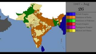 The Creation of India and Pakistan: Every Day