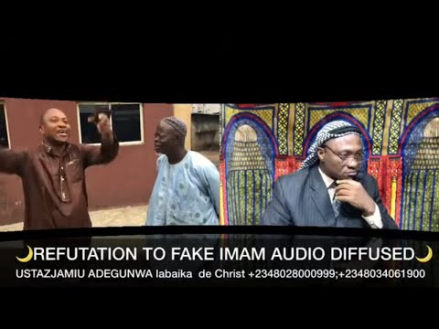USTAZJAMIU/REFUTATION TO FAKE IMAM AT OSHODI((1))(JIMOH AUDU BELLO)