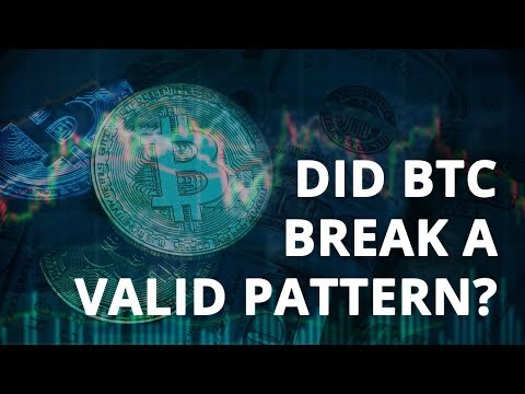 Did a Valid Bullish Pattern Fail with Bitcoin? (Technical Analysis)