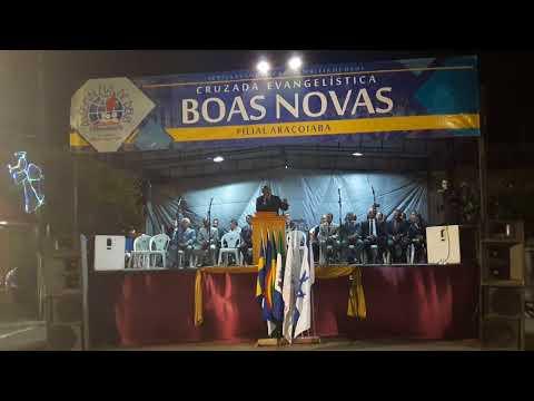 Desfile alusivo ao Dia da Bíblia em Araçoiaba-PE - Cantor Marcio