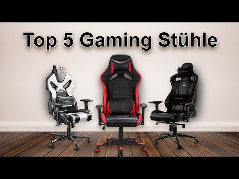 🔴 Top 5 Gaming Stühle in 2018 (GÜNSTIG...)