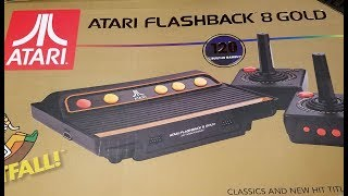 Classic Game Room - ATARI FLASHBACK 8 GOLD Review
