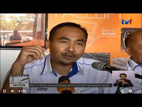 #PRU14 - KTMB TAMBAH TREN ETS [27 APRIL 2018]