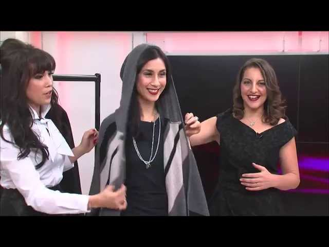 How to get rid of dark circles, & trendy capes, gilets & ponchos , Part 3, 20.10.14, Chrissy B Show