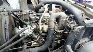 UD(Nissan Diesel) FE6(Turbocharged) Engine View
