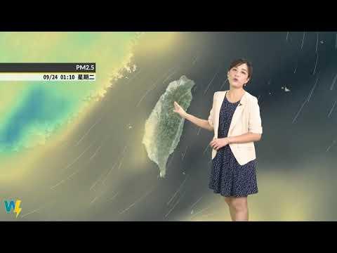 雲林縣108年9月21日~108年9月22日空氣品質預報