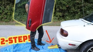 Can 2-Step Break a Car Window?