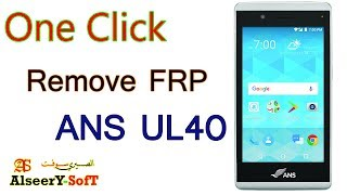 How to Bypass FRP ANS UL40 | Google account
