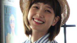 """ノンノ6月号""""こなれカジュアルの作り方""""撮影中の本田翼を直撃♡"""