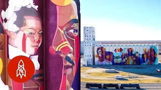 How North America's Largest Mural Brings a Community Together