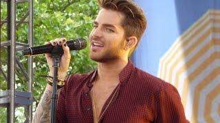 Adam Lambert at GMA 6-19-15 - Post Show Evil In The Night