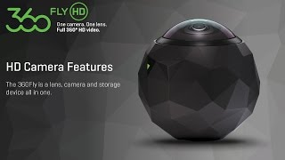 360fly: 360fly HD Camera Features