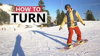 #18 Snowboard begginer – Tips for turning while snowboarding