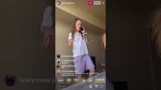 Anna Campbell And Taylor W/ Karlie 1st Instagram Live Back Together Hanging Out