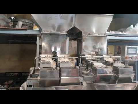 Semi Automatic Weight Filler Packaging Machine