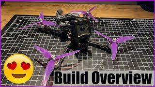 How to Build a Custom FPV Freestyle Quad - Pt 2: Build Process | CustomRCMods