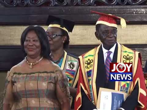 UG NEW CHANCELLOR: President Akufo-Addo urges universities to scale up resources. (1-08-18)