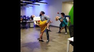 رقص نوروز بچههای منوتو - استیج ۱۳۹۶