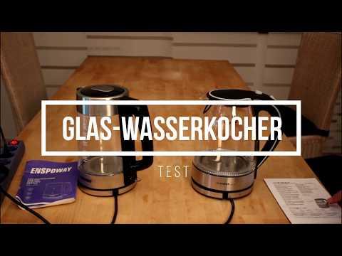 Glas-Wasserkocher-Test