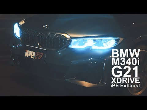 BMW M340i xDrive G20/G21 iPE Exhaust