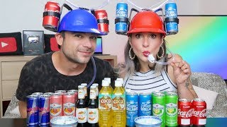 DRINKING HAT CHALLENGE *INDOVINA LA BIBITA* (Mystery Drink)
