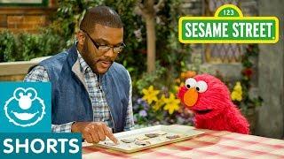 Sesame Street: Tyler Perry&Elmo Eat a Plate of Math