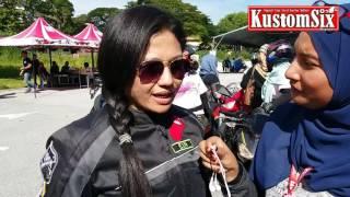 230417 - Kawasaki Lady Bikers di Ladies Lane Ipoh