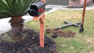 How to Install a Post and Mailbox Quickly